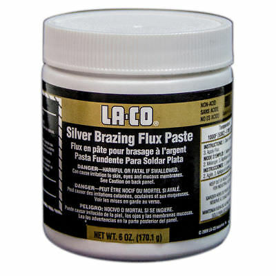 Bernzomatic SILVER BRAZING FLUX PASTE 170.1g Powerful Cleaning Action *USA Made