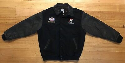 AFL St Kilda Saints Vivid Wool Bomber Jacket 1997 Grand Final PREMIERS *RARE*