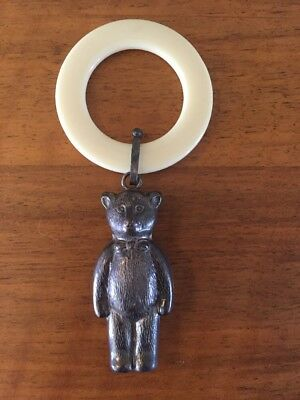 Antique Silver Teething Ring