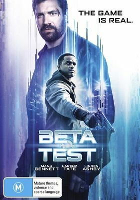 Beta Test (DVD, 2017) Sci-Fi The Game is Real Manu Bennett [Region 4] NEW/SEALED