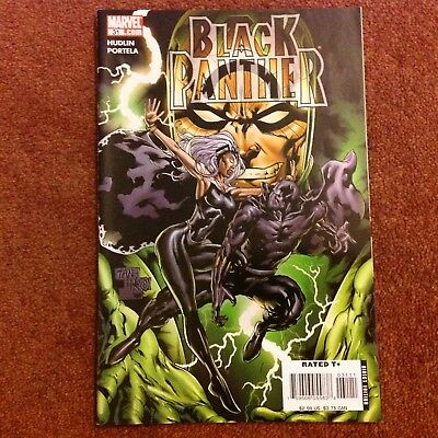 Black Panther No.31 (2007) Guest stars Storm and THe Fantastic Four