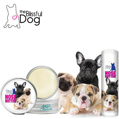 3 Cute Puppies Blissful Dog Nose Butter Tube or Tin Rough, Dry & Crusty Nose