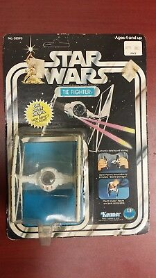 Star Wars Vintage Kenner IMPERIAL TIE FIGHTER Die-Cast, UNPUNCHED!!