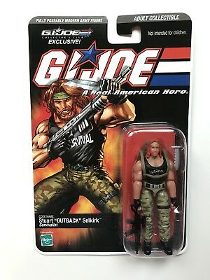 2008 GI JOE Collector's Club Exclusives STUART OUTBACK SELKIRK (V5) *NEU/OVP*