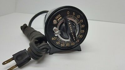 Vintage Darkroom 60 sec Timer 78100 Mark Time TESTED WORKS
