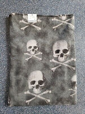 Reversible Book Sleeve Pirates and Glitter Holds Most Hardbacks and Paperbacks