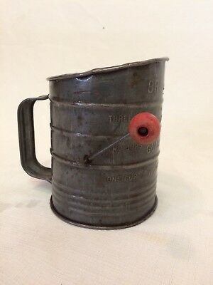 Antique Flour Sifter Bromwell's