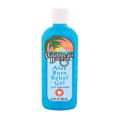 Caribbean Breeze Aloe Burn Relief Gel 250ml