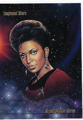 "1993 Star Trek Master Series cards PROTOTYPE ""Lt. Uhura"" NSU Exclusive Promo ."