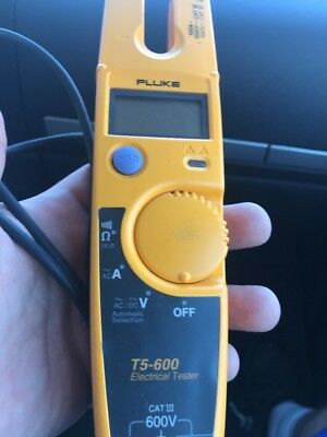 Fluke T5-600 Electrical Voltage, Continuity and Current Tester