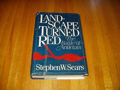 Landscape turned red the battle of antietam paperback new sears the battle of antietam landscape turned red by stephen w sears fandeluxe Choice Image