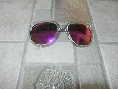 Nice Ray Ban  B & L Violet Purple Mirror Sunglasses Made In France