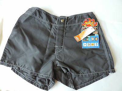 Sundek Boys Midnight Swim Wear Boxer Shorts Trunks Board Bathing Suit Size 4 26""
