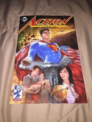 "Action Comics #1000 DC Comics ""Superman"" Variant Cover By Dave Dorman"