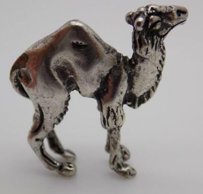 Vintage Solid Sterling Silver 925 RARE Dromedary Miniature, Figurine, Stamped*