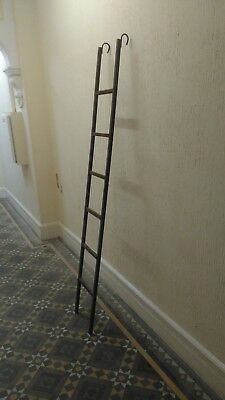 INDUSTRIAL LADDER cast iron 7ft retail shop display