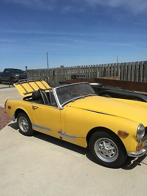1973 MG Midget  MG Midget project