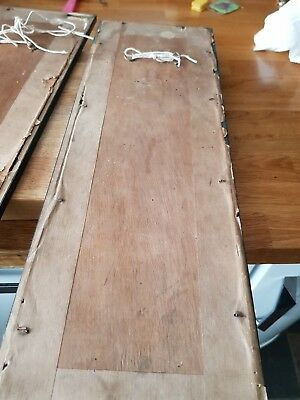 japanese antique painting damaged frames.  Very old