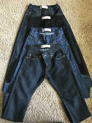 LOT OF 4 - LEVIS Slim 511 JEANS - BOYS Youth SIZE 8 REGULAR