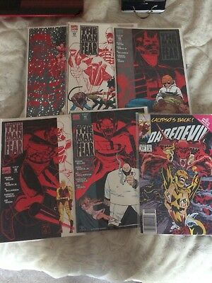 MARVEL Daredevil: The Man Without Fear 1 2 3 4 5  (Comics, 1993) FRANK MILLER An