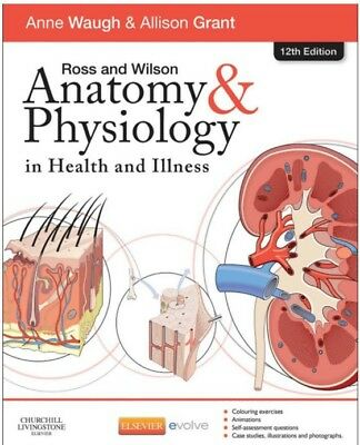 Ross and Wilson Anatomy Physiology in Health & Illness Book 12 Edition(pdf)
