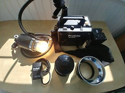 Profoto Acute B 600 with Acute Flash Head and Two Battery Packs