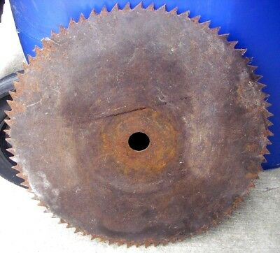 18-inch-Large-Antique-Sawmill-Buzz-Saw-Blade-Vintage-Rustic-Cabin-Decor: 4 of 4