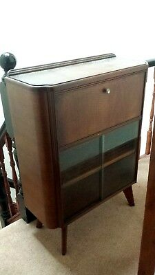 Vintage Bureau Display Cabinet