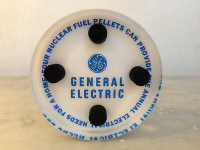 GE Nuclear Fuel Pellet Lucite Paperweight