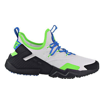 c660bc6dd300 NIKE AIR HUARACHE Drift Men s Shoes White Black Blue Nebula AH7334 ...