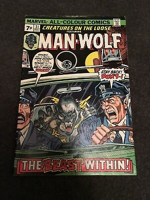 Creatures on the Loose featuring Man-Wolf  #31 - Comic - Marvel