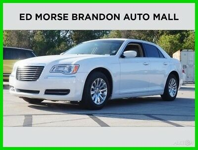 Chrysler 300 Series  2014 Chrysler 300 3.6L V6 24V RWD Premium White
