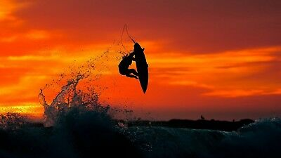 SURFING DIGITAL WALLPAPER PICTURE IMAGE PHOTO JPG BACKGROUND 1p PENNY AUCTION