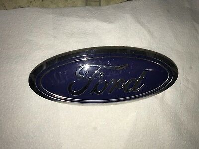 """UNUSED2008-2010 Ford F-250 9/"""" #7C34-8B262-AA F-350 Front Grille Emblem"""