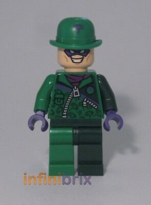 Lego The Riddler Minifigure from Set 76012 Batman Super Heroes NEW sh088