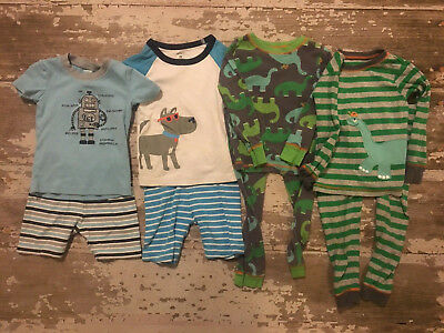 Boys Pajama Lot  3T Sets Gymboree carter's just one you carter's Summer Gymmies