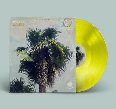 Maple Syrup - Vacation - Yellow Vinyl LP limited to 200 / New & sealed / MJM106