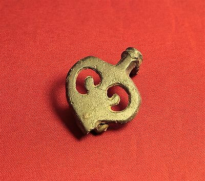 Ancient Roman Fibula or Brooch, 2. Century, AmphoraType!