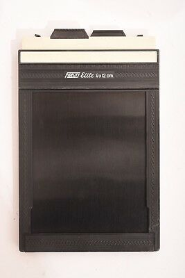 Fidelity Elite 9x12 cm double film sheet holder. For 4x5 Camera. Good condition