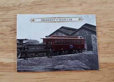 2015 Historic Autographs Civil War Appomattox #33 President's Train Car