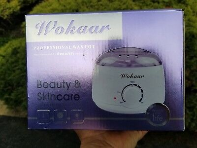 Wokaar Professional Wax Pot Hair Removal Heater Rapid Melt Beads (4) New