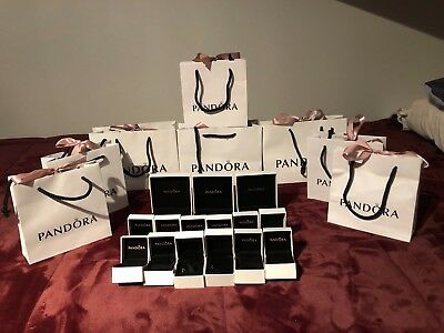 Pandora Box/Bag Lot 12 Small Box, 3 Big Box 5 Small Bag, 3 Big Bag