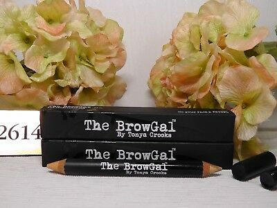 2 x The Browgal By Tonya Crooks Highlighter Pencil # 02 Gold/Nude 6g Each***NEW*