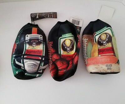 Jagermeister 750ml Basketball Football Beach 2012 Coozie Koozie Cooler Bags RT13