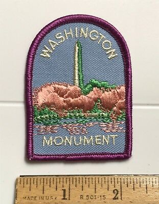 Washington DC Monument Obelisk Cherry Blossom Tree Embroidered Patch