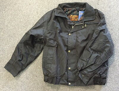 SWAN HILL OILSKIN JACKET new in bag SIZE S small $229rrp BURKE AND WILLS