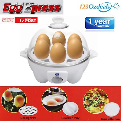 Electric Egg Cooker Hard Soft Boiled Steamer Omelette Poacher Like Microwave
