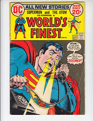 WORLD'S FINEST #167 213 219 220 240 253-256 DC silver bronze lot FREE SHIPPING