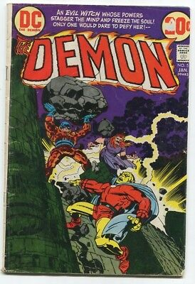 THE DEMON #5 by Jack Kirby (DC Comics, 1973), reader copy FREE SHIPPING