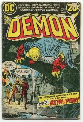 THE DEMON #2 by Jack Kirby (DC Comics, 1972) reader copy FREE SHIPPING